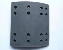 222*220*14.5/22 brake lining for trailer heavy duty truck axle