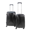 ABS PC Film Light Trolley Luggage With TSA Lock