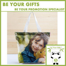Customize Digital Printing Full Color Art Canvas Tote Bags