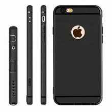 Slim Silicone TPU Case For iphone Cover Coque Candy Colors Black Shell Soft PP Matte Phone Case for iphone 6, 6s, 7