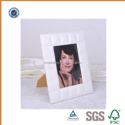 Customized Logo Pu Photo Frame With Pu Cover, Factory Direct Leather Photo Frame, OEM Picture Photo Frame