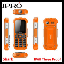"2.0"" 2G mobile Waterproof Dustproof Shockproof IPRO Shark big button keypad with BT FM MP3"
