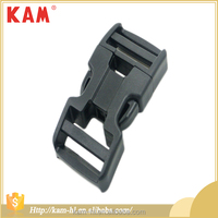 China factory custom adjustable strap plastic buckle side release
