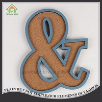 cheap mdf antique idea decorate wood letter for craft
