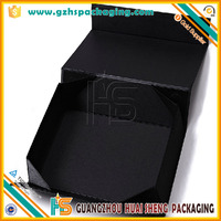 luxurious Custom Printing Cardboard Flip Top Boxes With Magnetic Catch Flat Pack ShippingGift Packing Box