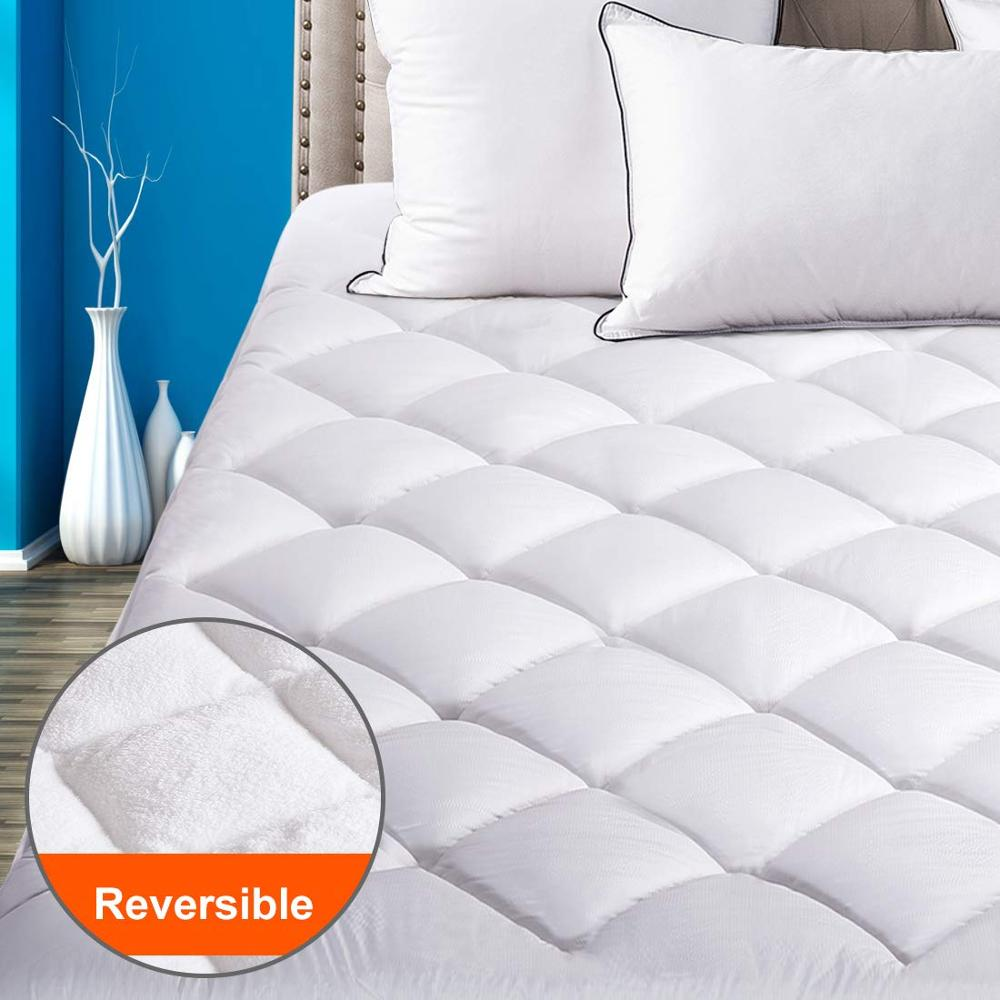 Quilted Fitted Mattress Pad-bamboo color waterproof mattress protector waterproof zipped - Jozy Mattress | Jozy.net