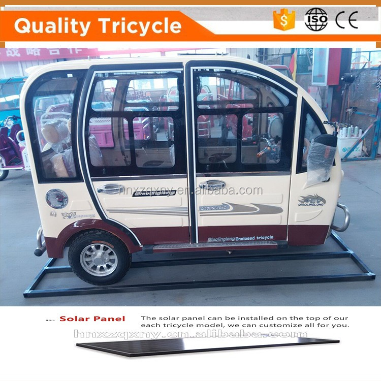 electric tuk tuk/passenger tricycle/auto rickshaw for sale