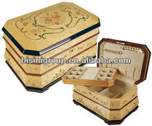 Wooden jewelry box gift box necklace box