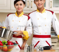 chef wear,chef coat,chef uniform/Male and female Restaurant Chef
