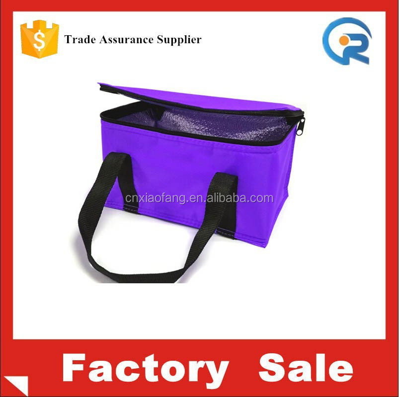 China supplier sales custom 6 pack non woven cooler bag for cola