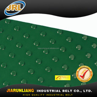 green PVC dot/nailed conveyor belt with high quality