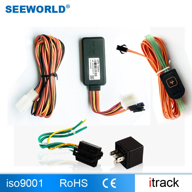 Small Satellite GPS Tracker Vehicle Tracking System Sensor Two Communication Vehicle GPS Tracker S112U