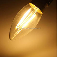 China manufacturer led filament candle bulb C35 E14 with CE ROHS CCC