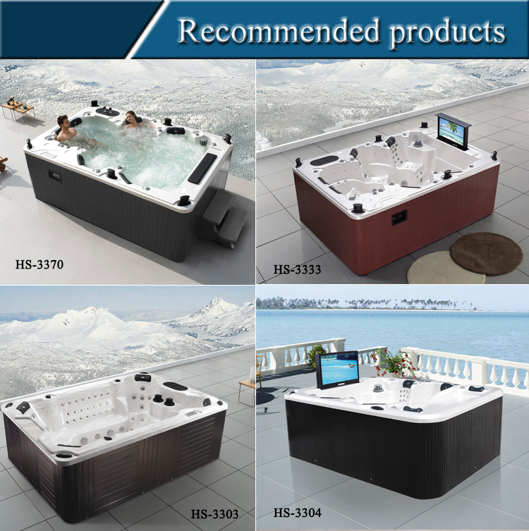 HS-S38 massage hottub outdoor spa pool sexy massage spa make in china
