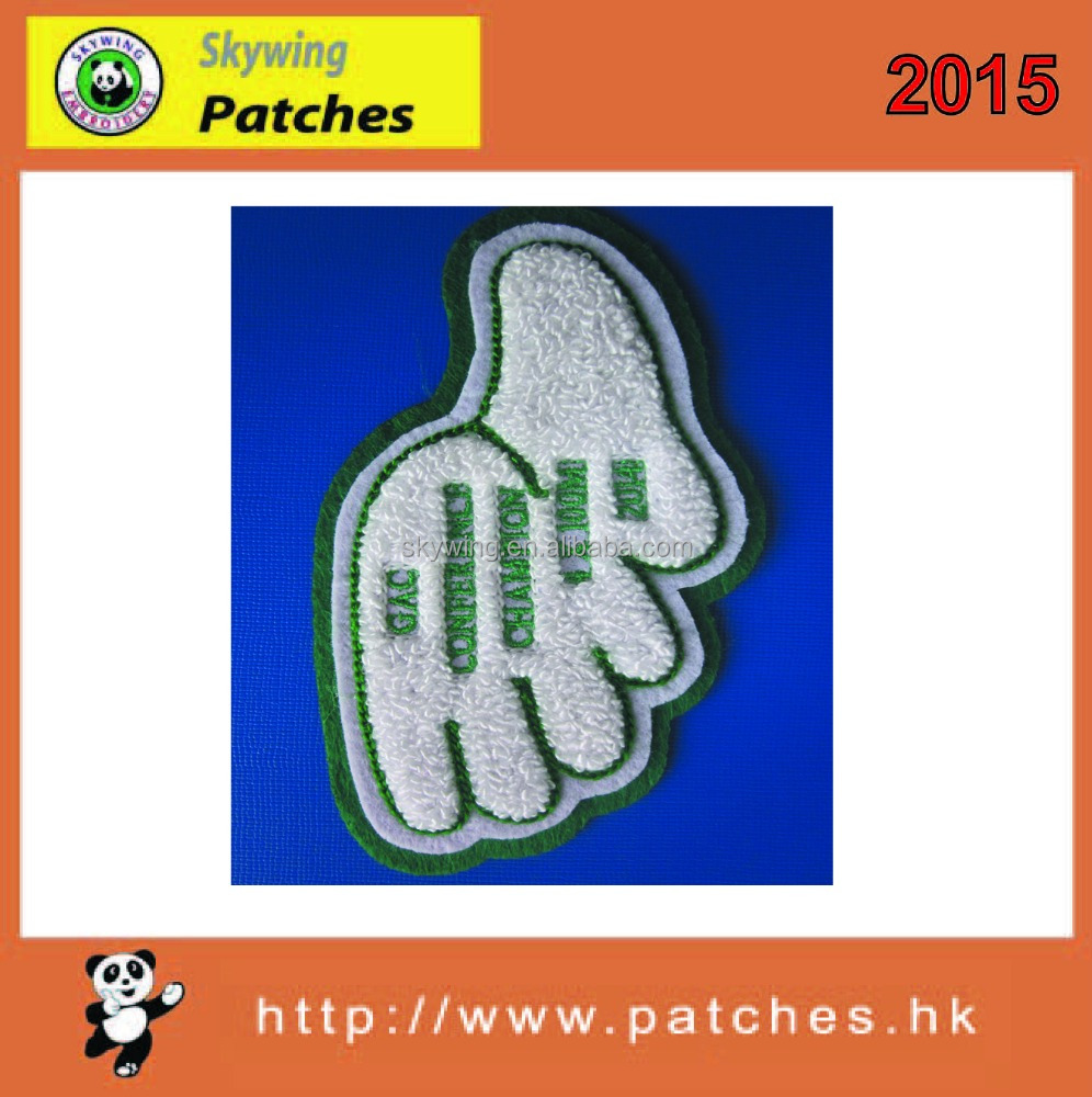 custom chenille patch in low price and high quality