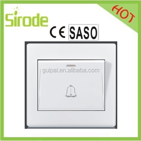 OEM Wire Drawing 16A Electrical Wall Waterproof Switch