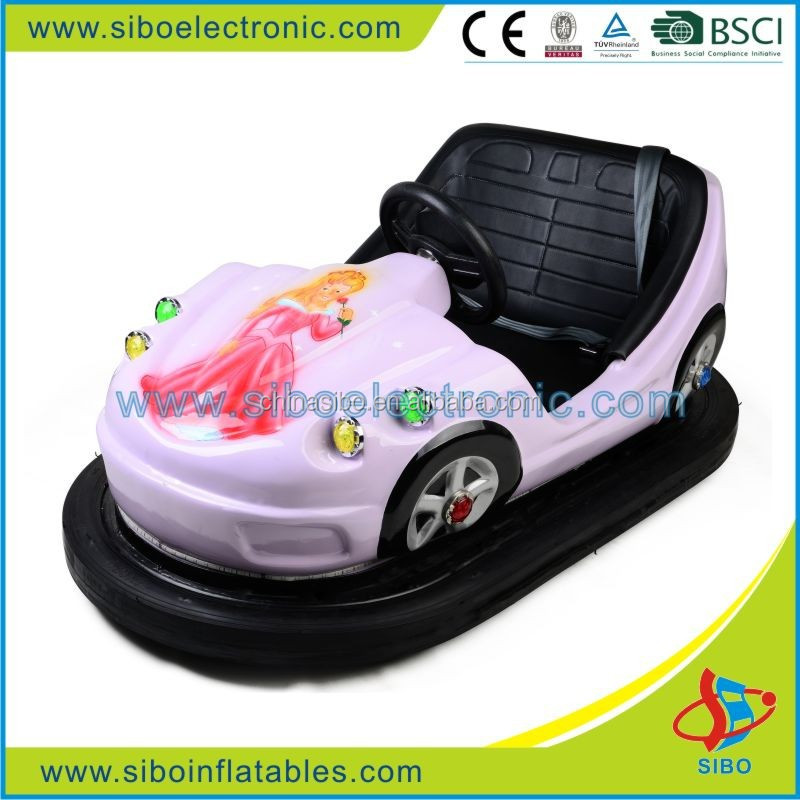 GMBC adults entertainment indoor playground bumper car rides two seater mini cars