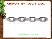 Metal polished twist spring chain made in various of steels (SGS certificate)