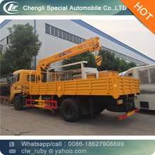 Hot sale Used & New Hydraulic Crane 3500kg Mounted on Dongfeng Chassis for sale