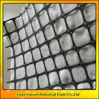 Geotextile Composite Backed Plastic Grid for Reinforcing Pavement