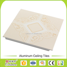 20 years guarantee fireproof decorative aluminum ceiling tiles