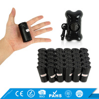 Custom Printed Large Enough Wholesale Disposable Dog Poop Bags With Dispenser