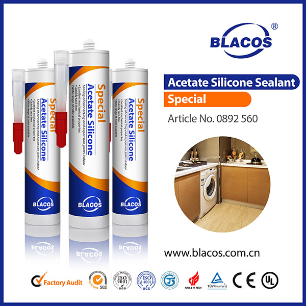 Factory direct supply acetate CE Certificated acetate tile caulking