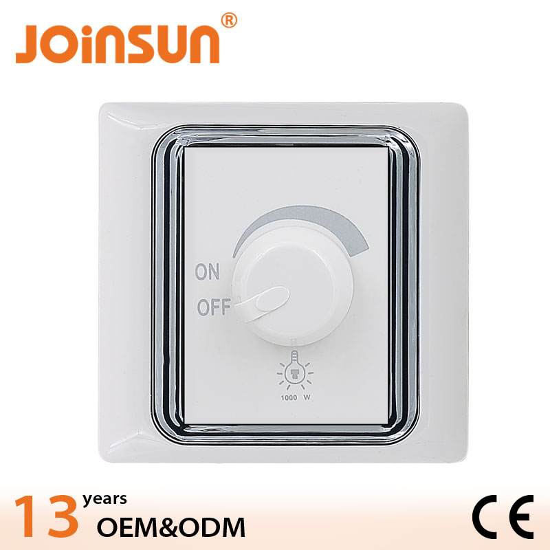 1000W LED dimmer switch Sale for USA CE black socket