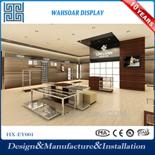 High quality solid wood clothing display furniture