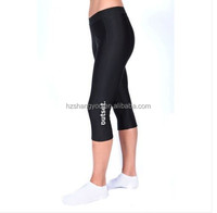 Womens 3/4 Length compression Leggings Ladies Running Fitness Wear