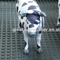 Livestock Product- Small Squared Pattern Dairy Cow Rubber Matting For Sleeping and Walking