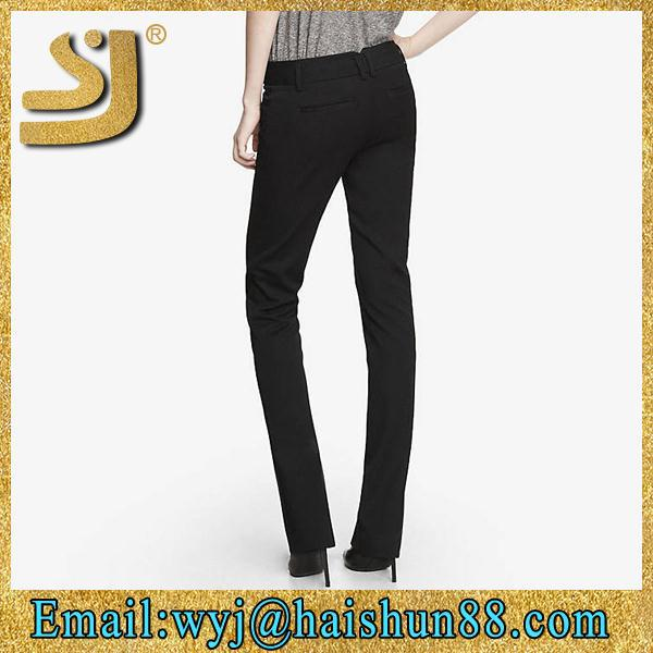 Hot selling sexy black pants ,cheap black pants for women , sex girls black pants