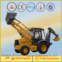 7 ton mini backhoe excavator with hydraulic hammer auger and 4 in 1 bucket 2015 best construction equipments made in china