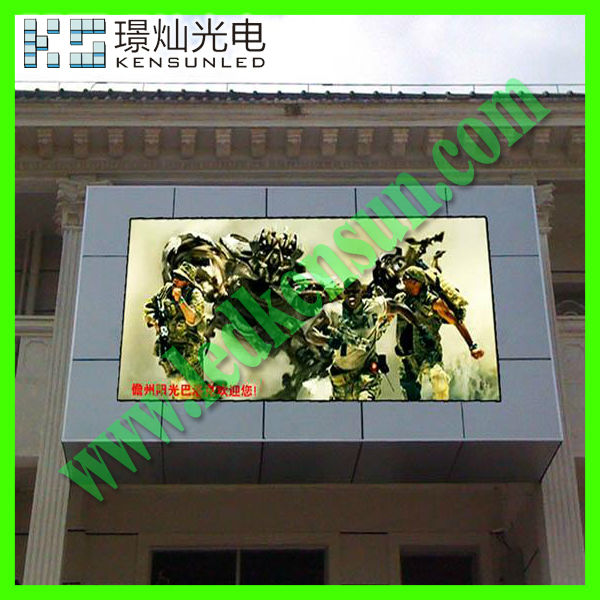 outdoor programmable scrolling led sign