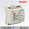 CE RoHS approved din rail 12v dc 15w 12v din switch power supply