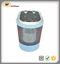 Single tub mini washing machine with dryer for washing baby clothes