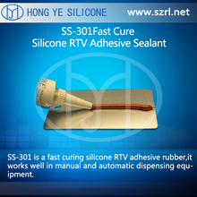 SS-301 Fast Cure Silicone RTV Adhesive Sealant resists weatheringand high temperatures