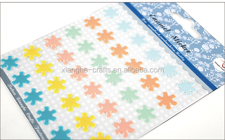 cute nail enamel dot sticker for craft and scrapbook