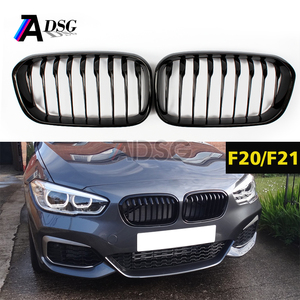 ABS front grill for BMW 1 series F20 F21 LCI 2015+ M-p style gloss black