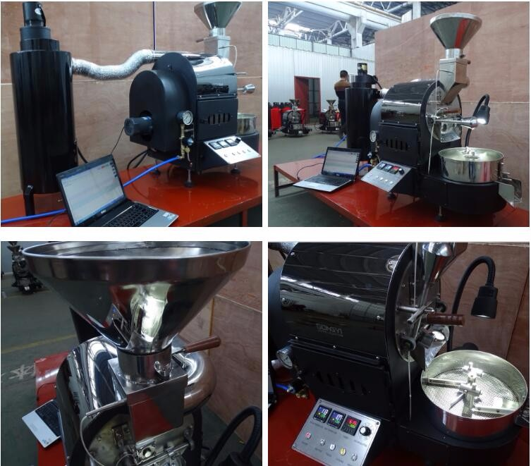 Cafe Shop Coffee Roaster 2kg per batch