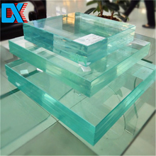 10mm thick high strength security tempered glass roofing panels