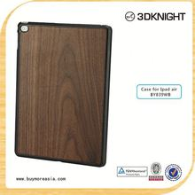 hot new products 2015 high quality wood hard back case for ipad air 2