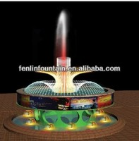 submersible led lighting water feature fireworks fountain