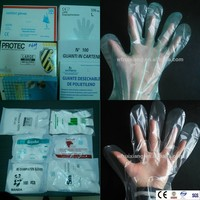 Pe Guantes Plastic HDPE Gloves Cheap