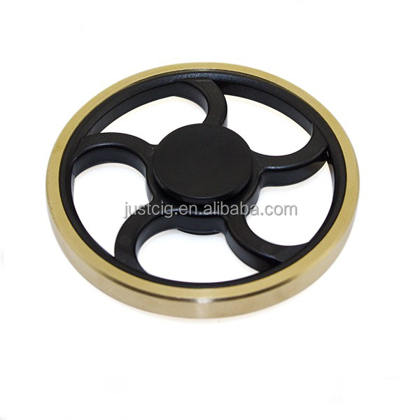 2017 hot wheel copper brass material 3 bar spinner best price for wholesales