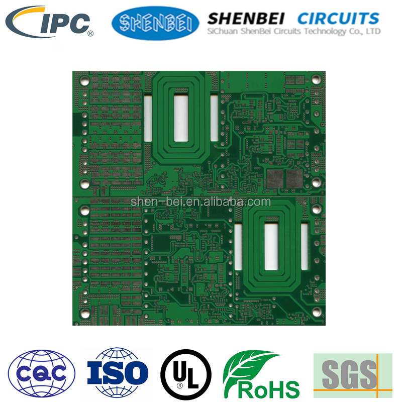 2 layer, 4 layers, 6 layers UL REACH Solar pcb circuit