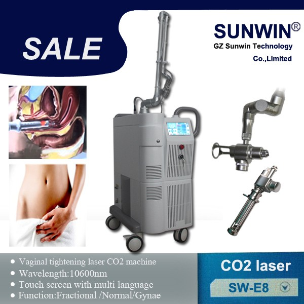 Hot Sale Multi-function Fractional CO2 Laser mole removal Device Fractional CO2 laser for skin care