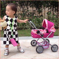 China factory 2015 Doll Stroller Toy/baby carriage/baby trolley for Kids,doll stroller