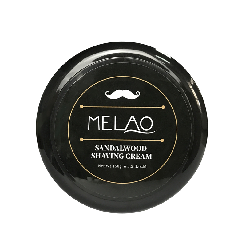 MELAO Men Beard Shaving Foam Refreshing Shaving Balm Soften Beard Reduce <strong>Friction</strong> Shaving Cream 150g