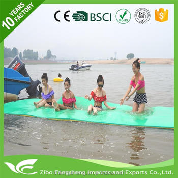 2017 Water Pad with Foam Swimming Floating Mat for Lake Water Pool Rafts Recreation and Relaxing
